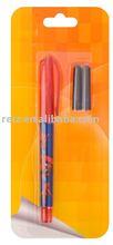 Fountain pen set,plastic,with 2 cartridges