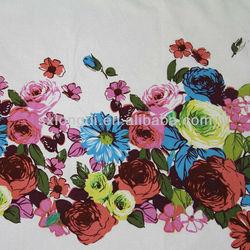 Nice Flower Printed Cotton Fabric