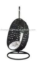 Basket swing/ hanging indoor swing chair/white swing chair