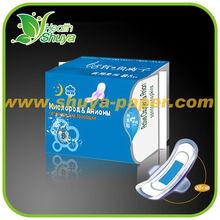 High-Tech Functional Sanitary napkin with Negative Ion(SZ034)