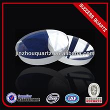 transparent quartz glass circular windows