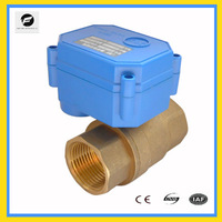 "electronic water valve motor actuator CWX-15Q full port DN 25 (1"")220V/AC for water treatment,heating system"