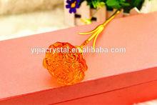 Beautiful crystal carnation craft