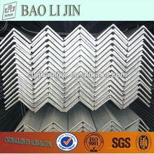 hot dip carbon steel galvanized angle iron sizes/ unequal gi angle iron