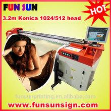 Wide Format Konica head Printer ( 8 Konica512 head, 720dpi )