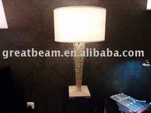Modern hotel fabric table lamp GB2082