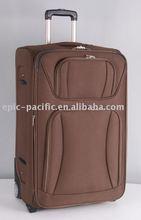 Eva side panel soft designer luggage trolley bags