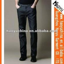2015 straight men stylish china wholesale brand denim jeans (HY1186)