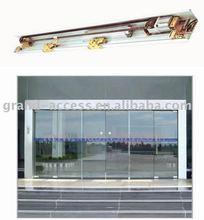 Automatic interior Glass Sliding Door with aluminum frame