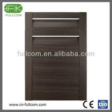 Light Wenge Colour PVC kitchen cabinet door