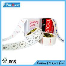 Custom drafting dots