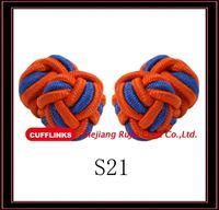 wholesale silk knots cufflink manufacturer