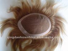 Wholesale indian men hair toupee wig