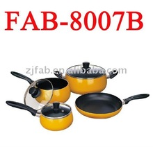 7Pcs Aluminum Non-stick Natural Stone Cook