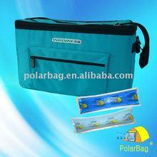 Portable medical travel cooler bag