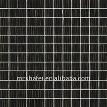 Black crystal glass mosaic/kitchen//bathroom/living room/bedroom/KTV