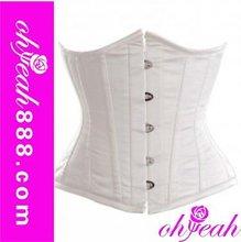 Hot sale sexy vintage half cup corsets lingerie
