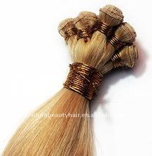 Whole sale Brazilian Virgin Remy human handtied human hair