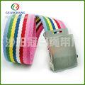 calidad cinturón de lona para las mujeres en dongguan
