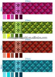polyester brush pigment bedsheet print fabric