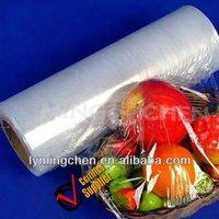 PE/pvc plastic cling film for food grade/pvc cling film food wrap/film xxl