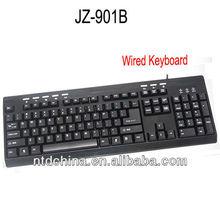 Wired Standard Keyboard Straight Line Design