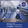 Interlocking rubber gym flooring/ Weight room gym flooring