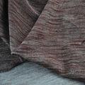 "61"" wide 280g/sqm viscose mistura de seda malha stretch denim slub tecidos"