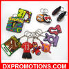3D PVC key chain/Design key chain/Cheap custom keychains