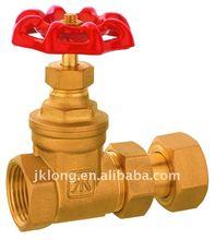 06109 Brass Water Meter stem Gate Valve