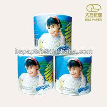printed toilet tissue