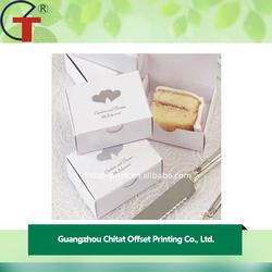 Simple Design Wholesale Square Paper Wedding Cake Box