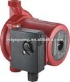 Chaude pompe de circulation d'eau, eau chaude pompe de circulation, pompe de surpression d'eau chaude