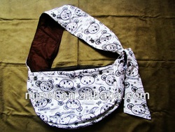 Dog carrier of newly bear print walking dog carriers 100% cotton