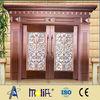 Zhejiang AFOL metal double doors exterior, used exterior doors for sale,security metal doors