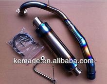 MU012 Monkey Bike Muffler Exhaust Titanium Exhaust