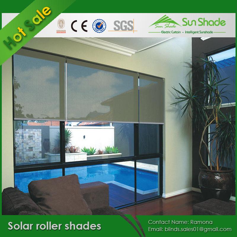 Motorized Solar Roller Shades Buy Solar Roller Shades Electric Solar Roller Shades Auto Solar