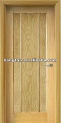 Engineered solid white oak wooden door