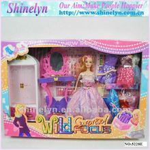 SLD-047 candy doll models for kids custom design crochet dress up dream girl sets wholesale hot selling