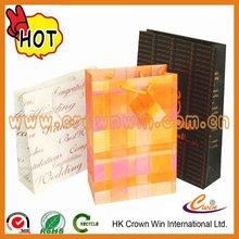 2012 hot off-set printing paper bags