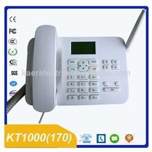 Tarjeta sim GSM teléfono de escritorio KT1000 ( 170 )