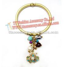 fashion matte gold bangle jewelry wholesale