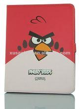 PU birds printed laptop sleeve