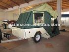 ASI003 Hard Aluminum floor camper trailer
