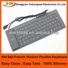 85 keys flexible silicon azerty french keyboard