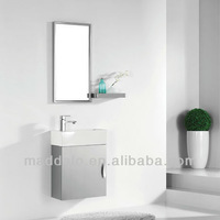304 Stainess Steel Wall Decorative Small Size Bathroom Vanity