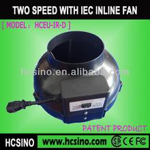 (Plastic)Inline blower fan/inline duct blower fan/inline centrifugal blower fan