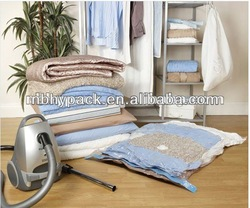 Vacuum Storage bag for quilts, bedding and clothes