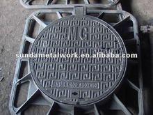 Export Manhole Cover 850*850mm/Ductile Iron Manhole Cover /SD850W45S/cast iron manhole cover price