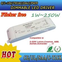 led dimmable driver 1-10V/0-10V/DALI/TRIAC dimming control